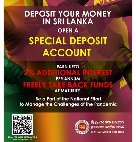 Deposit Money In Sri Lanka Open A Special Deposit Account